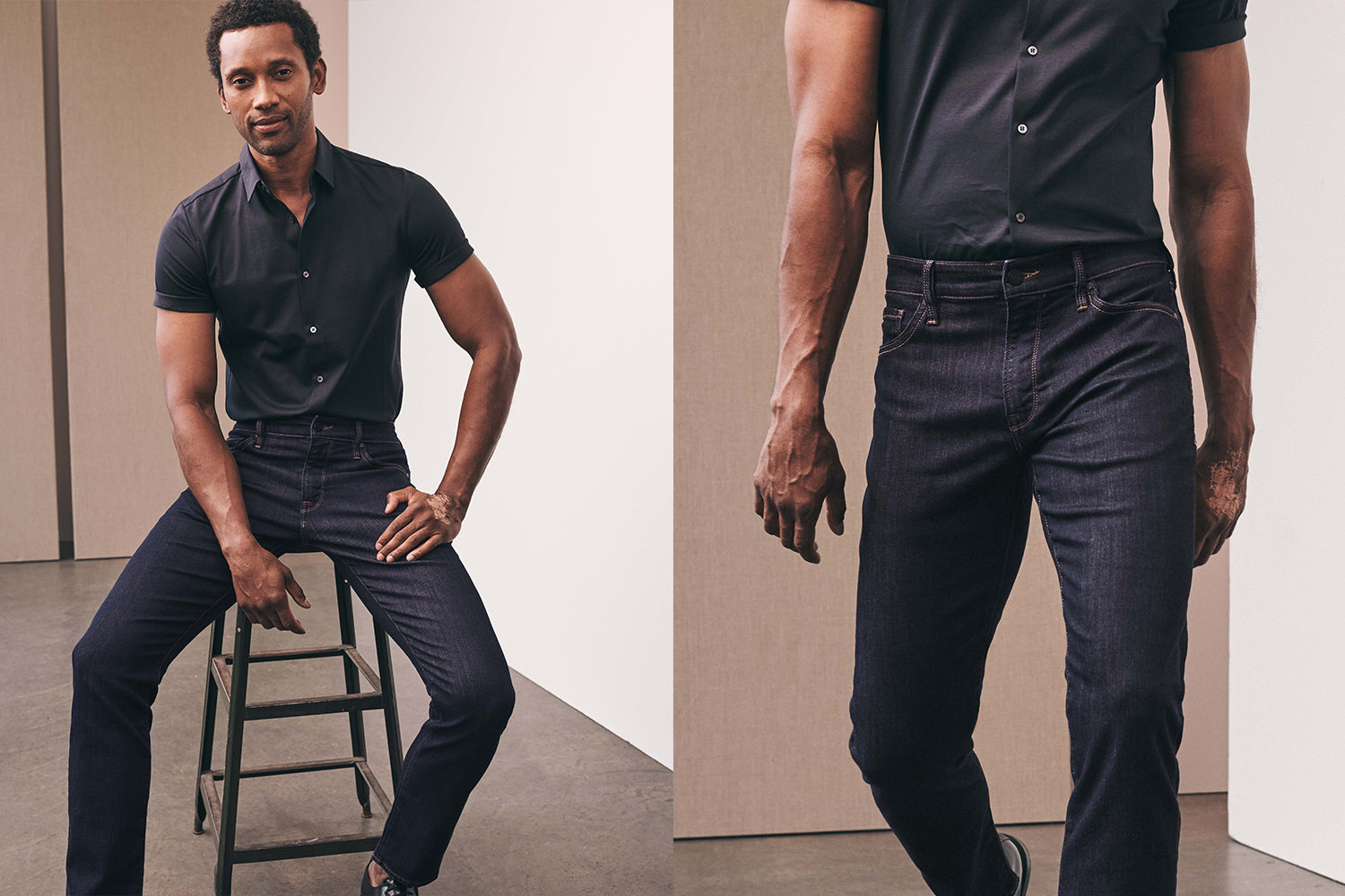 Charisma High Rise jeans for men
