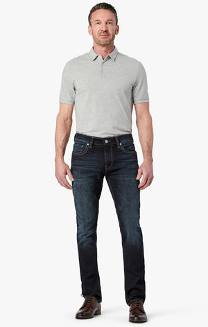 Cool Slim Leg Jeans in Deep Foggy