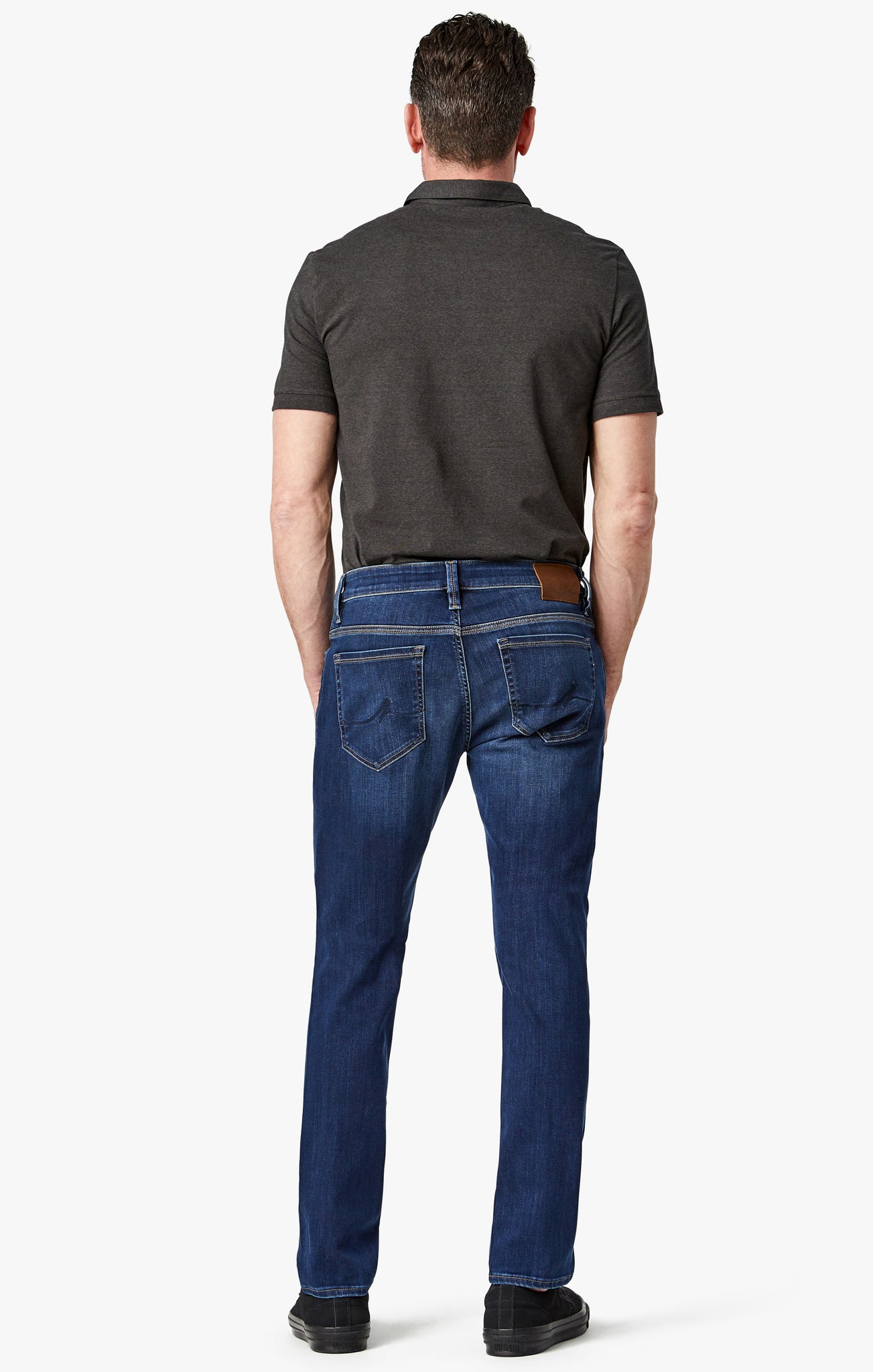 Cool Slim Leg Jeans in Deep Tencel