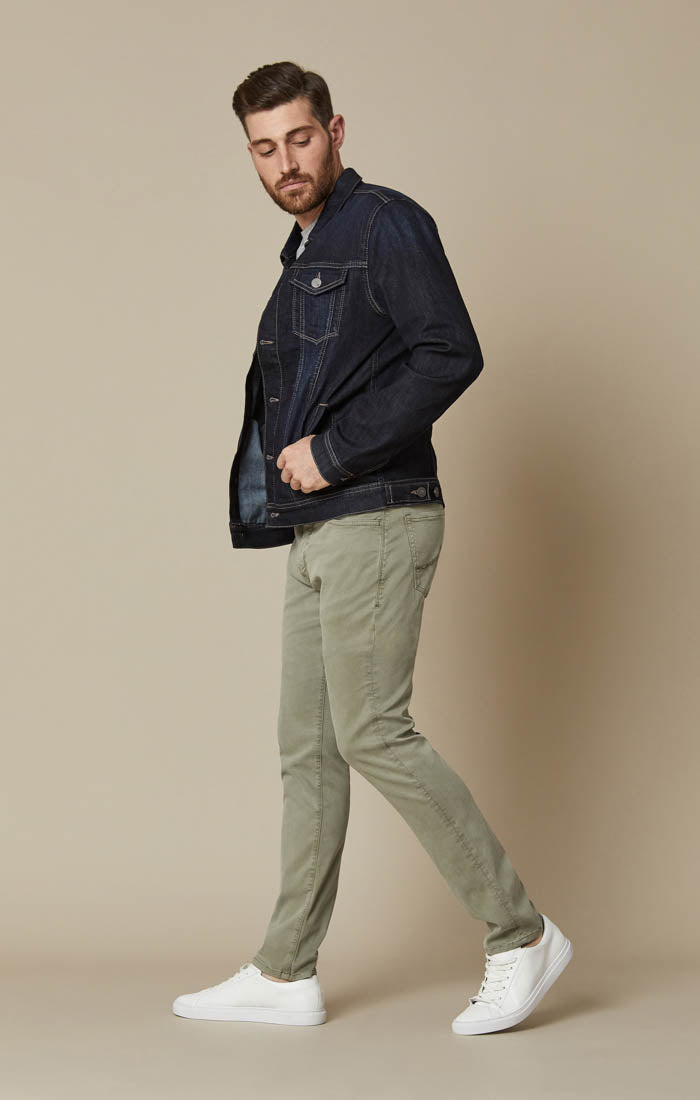 Cool Slim Leg Pants in Sage Soft Touch