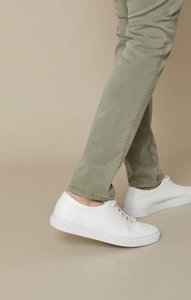 COOL TAPERED LEG PANTS IN SAGE SOFT TOUCH