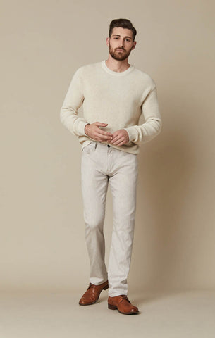 COOL TAPERED LEG JEANS IN BEIGE CASHMERE