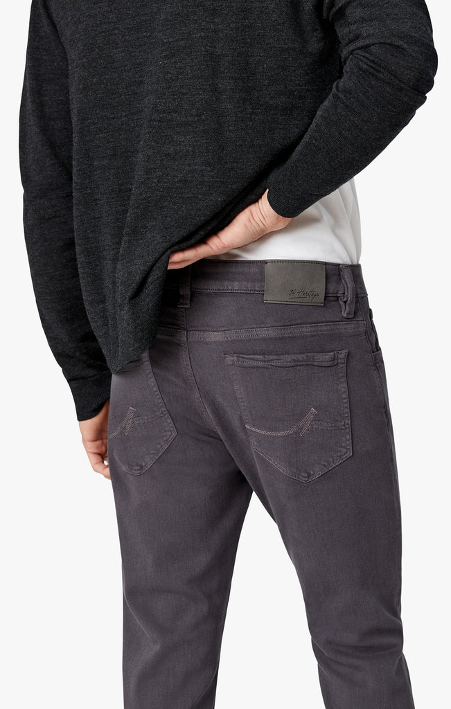 Cool Slim Leg Jeans In Grey Comfort