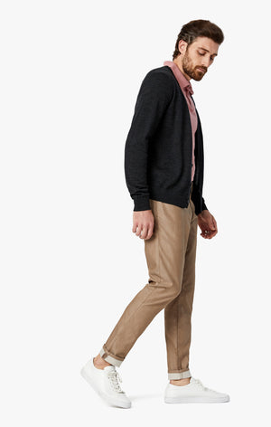 Cool Slim Leg Pants in Camel Reversed Twill