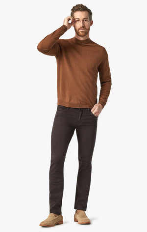 Cool Tapered Leg Pants In Chocolate Comfort