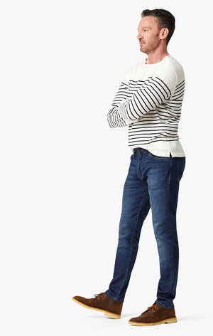 Cool Slim Leg Jeans in Dark Sporty
