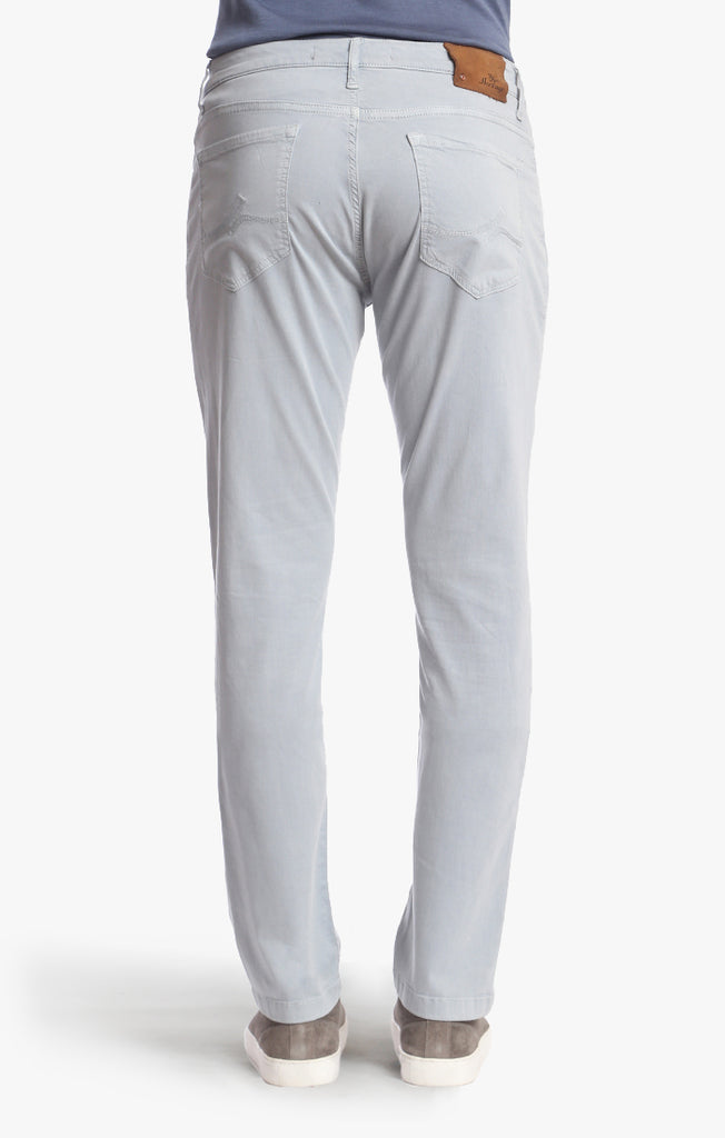 Naples Straight Leg Chino Pants in Ice Twill
