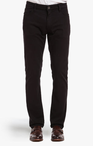 COOL TAPERED LEG PANTS IN BLACK FINE TWILL