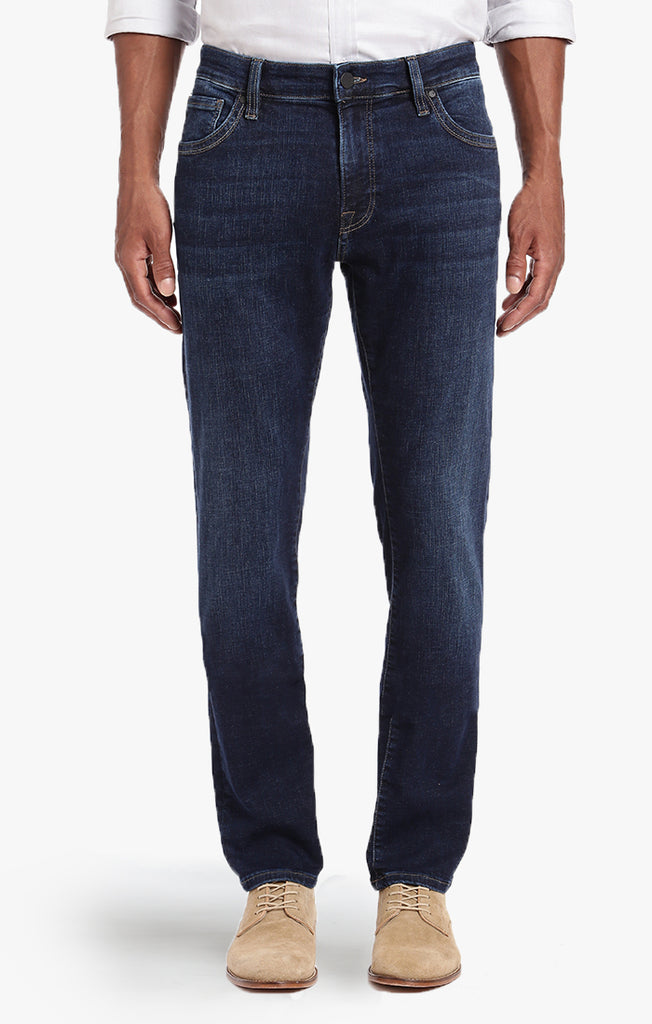COOL TAPERED LEG JEANS IN DEEP INDIGO CASHMERE - 34 Heritage Canada