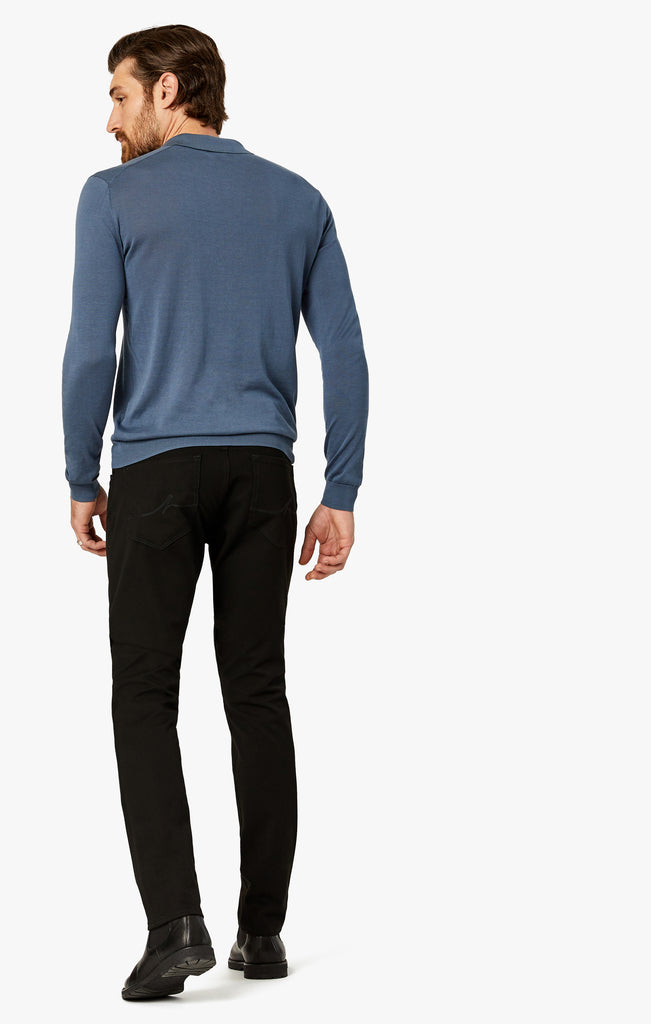 Cool Slim Leg Jeans In Black Winter Cashmere