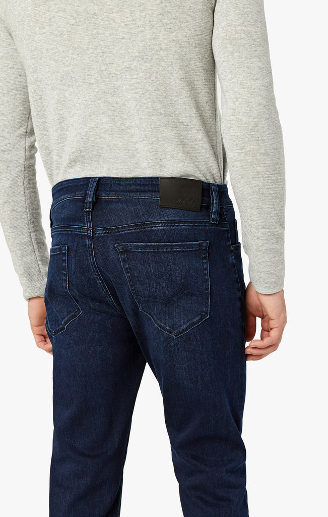 Cool Slim Leg Jeans In Deep Brushed