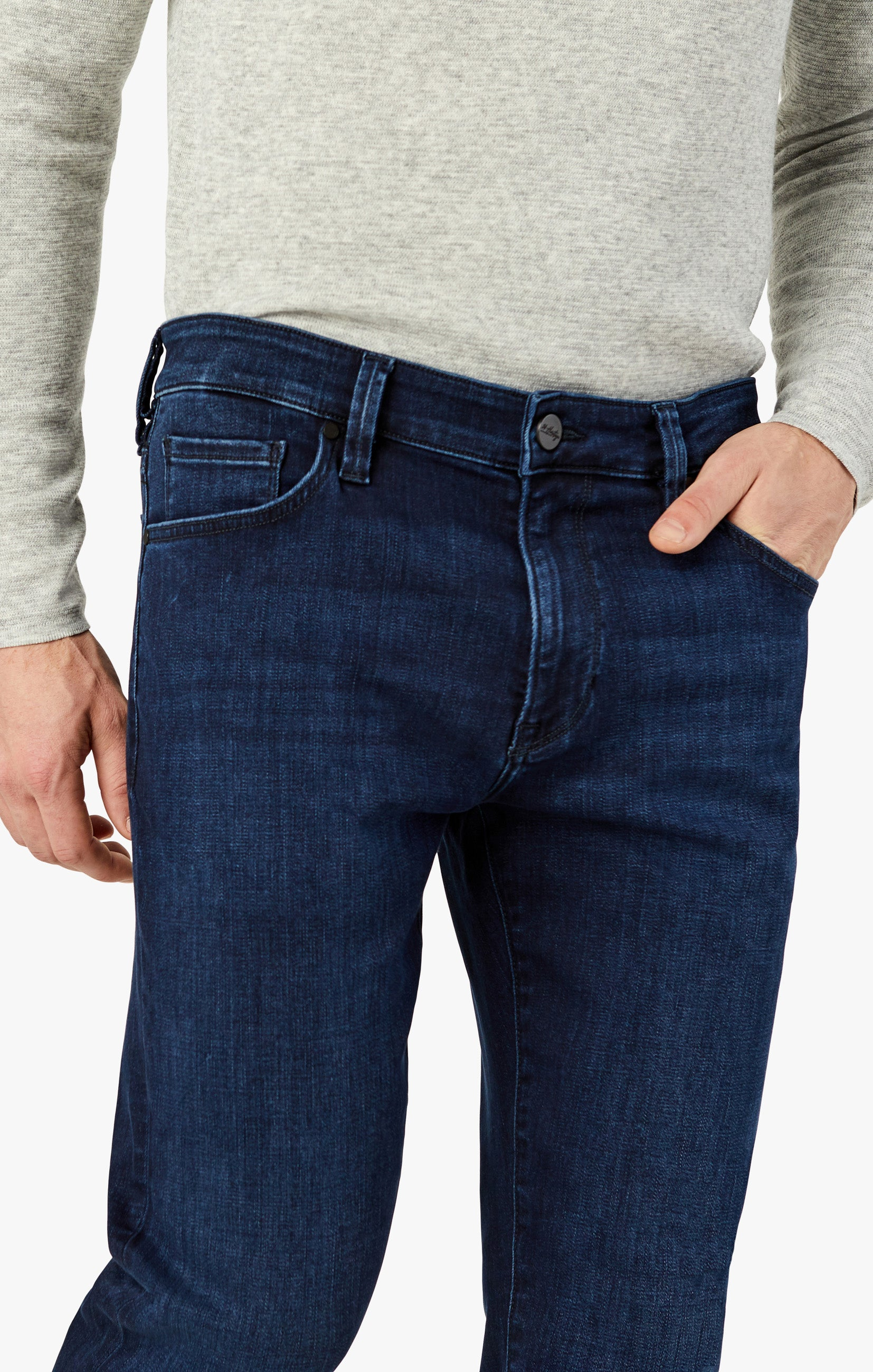 Cool Slim Leg Jeans In Deep Brushed Image 6