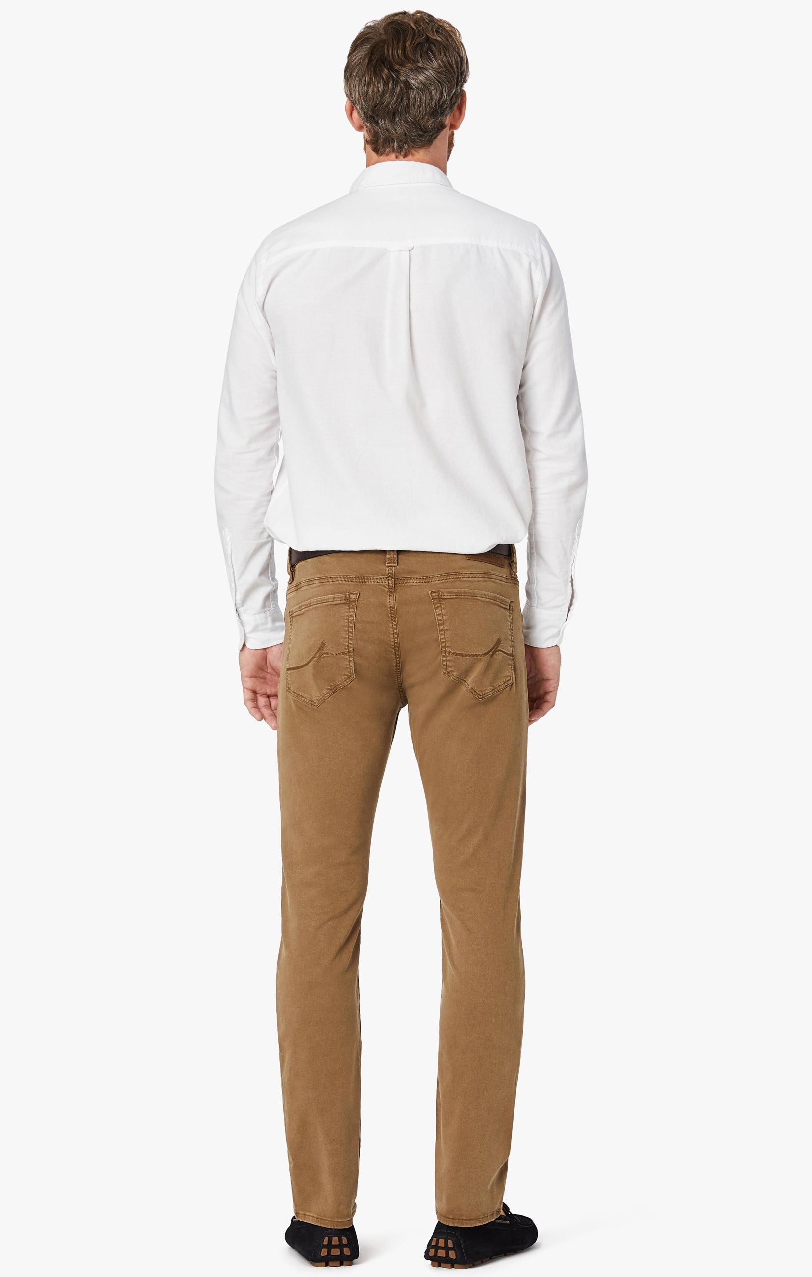 Cool Tapered Leg Pants In Tobacco Twill Image 7