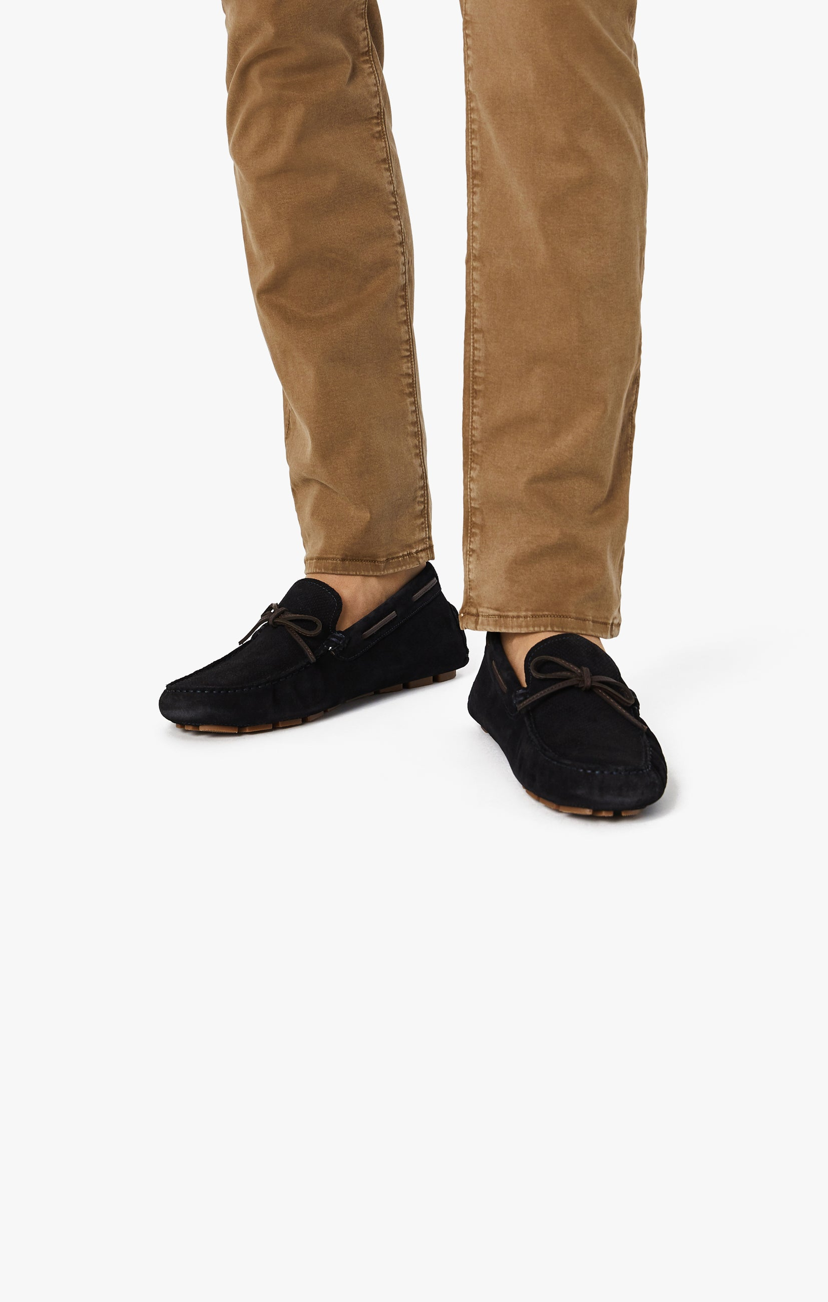 Cool Tapered Leg Pants In Tobacco Twill Image 4