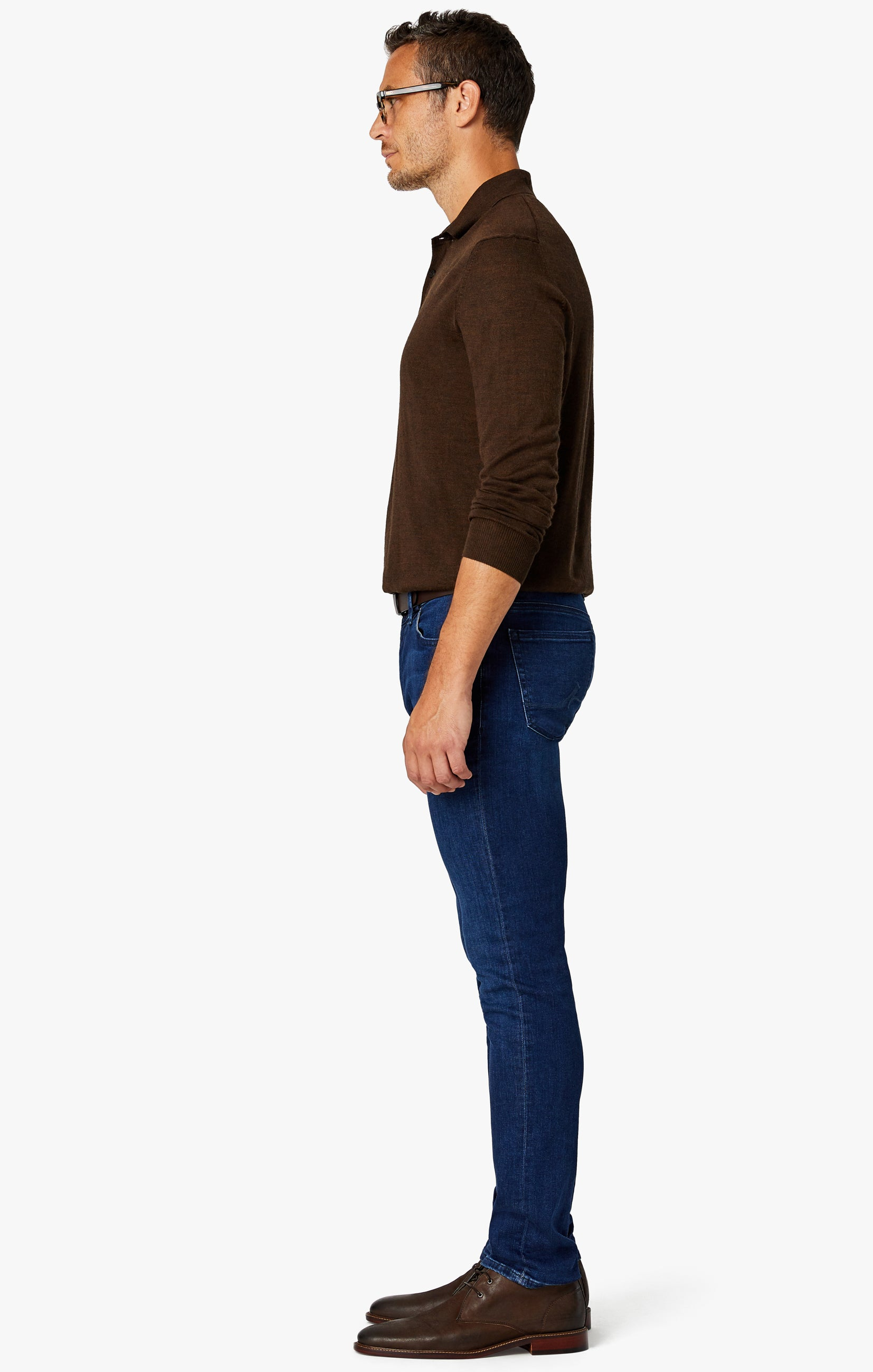 Cool Slim Leg Jeans in Dark Shaded Ultra Image 3