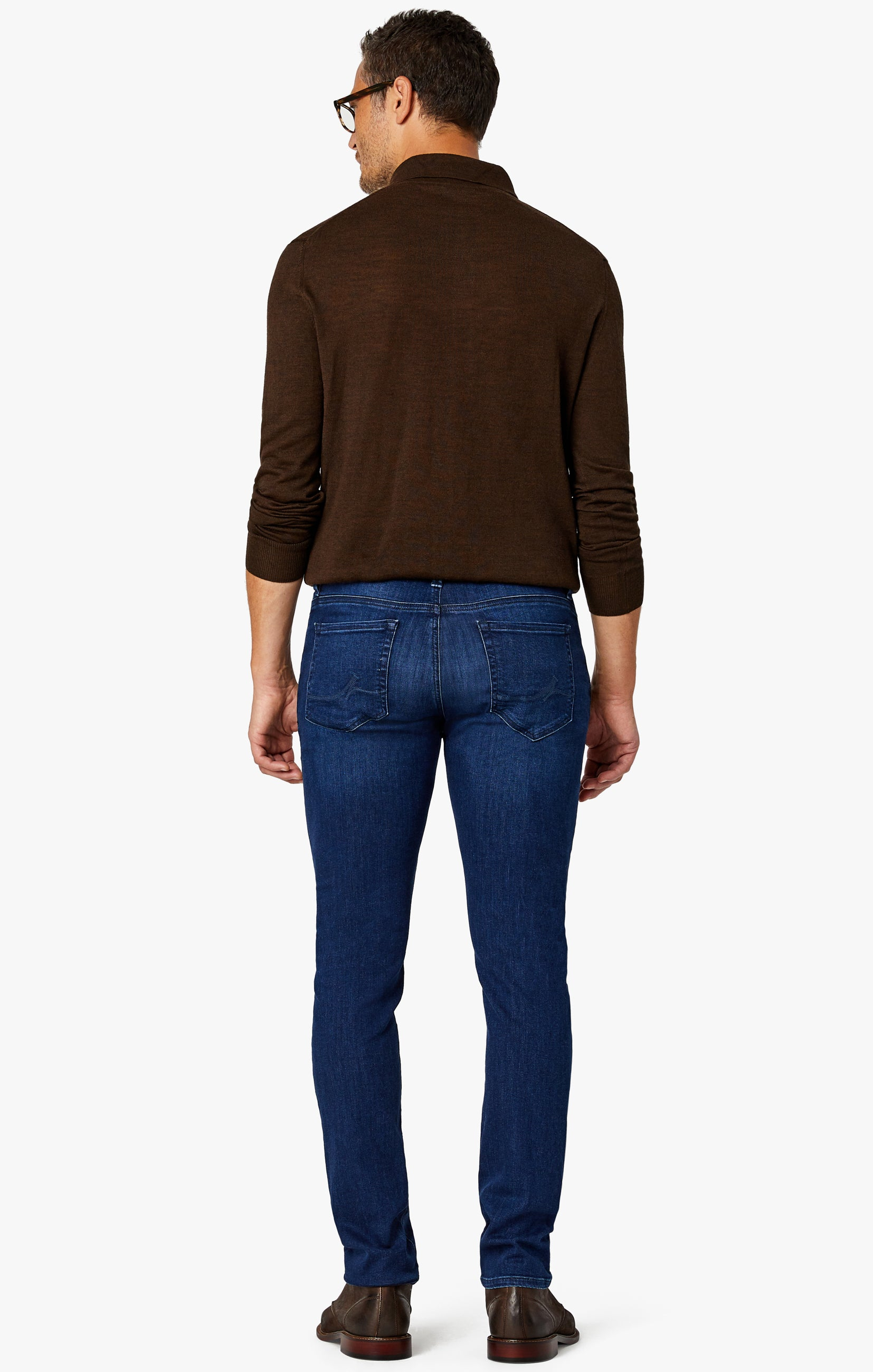 Cool Slim Leg Jeans in Dark Shaded Ultra Image 2