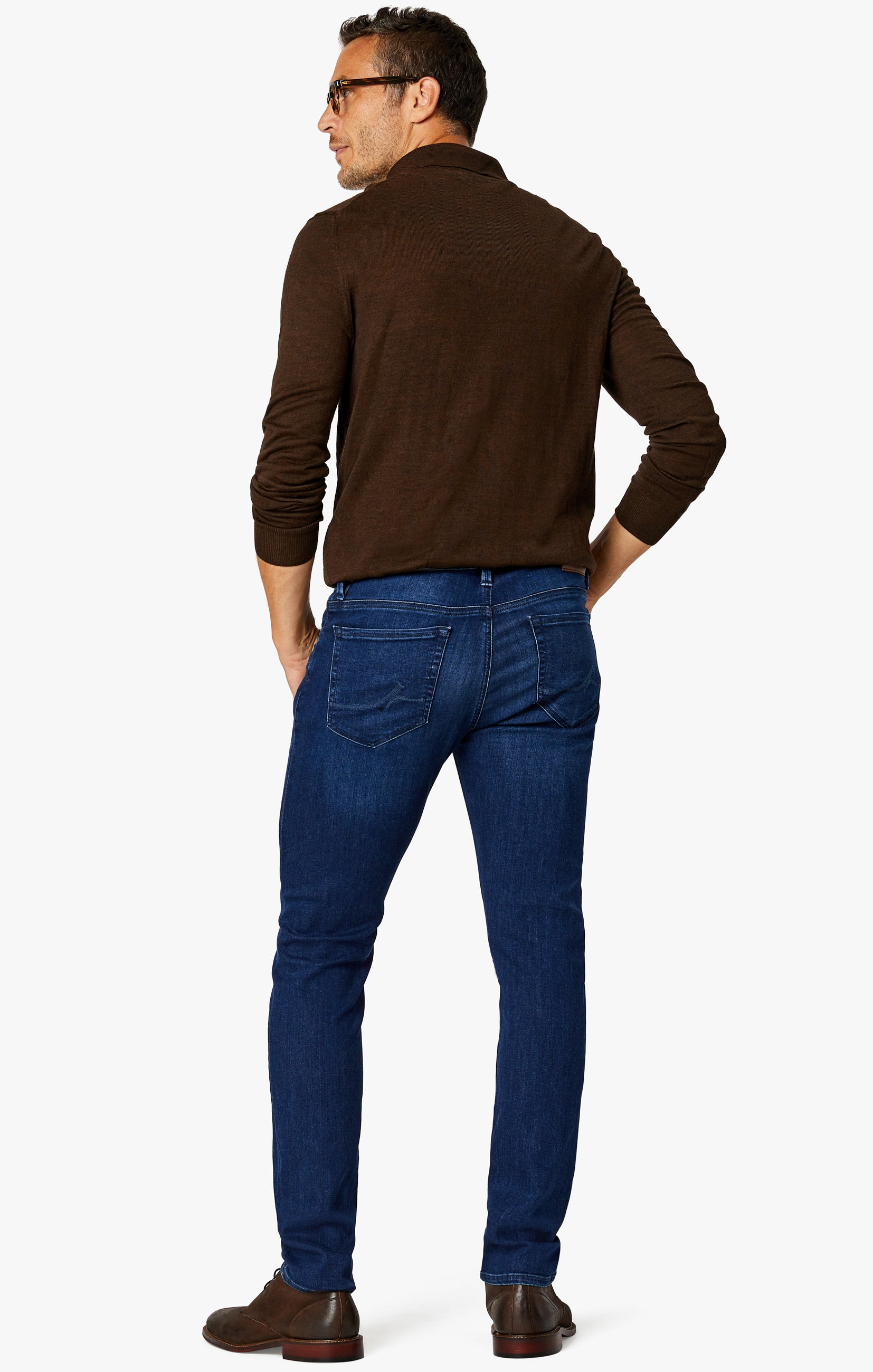 Cool Slim Leg Jeans in Dark Shaded Ultra Image 7