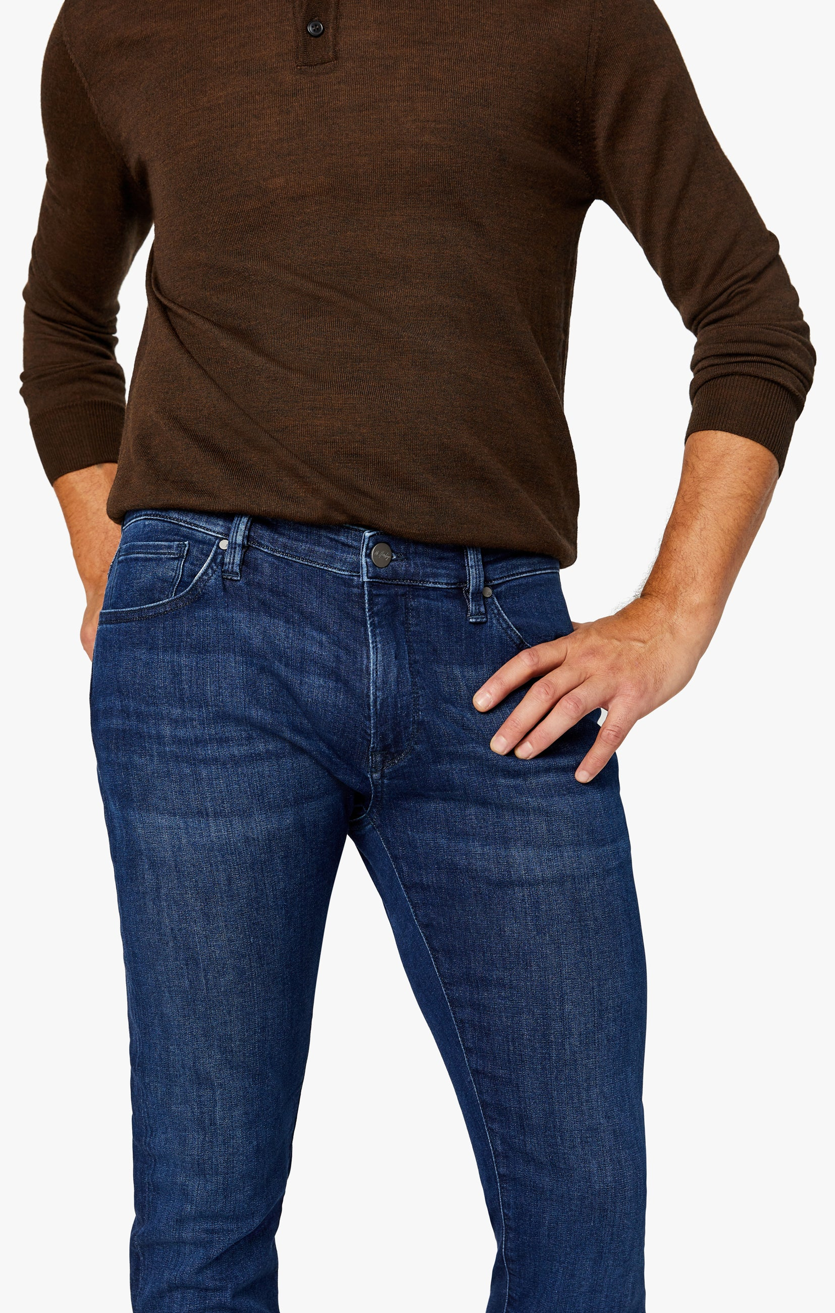 Cool Slim Leg Jeans in Dark Shaded Ultra Image 5
