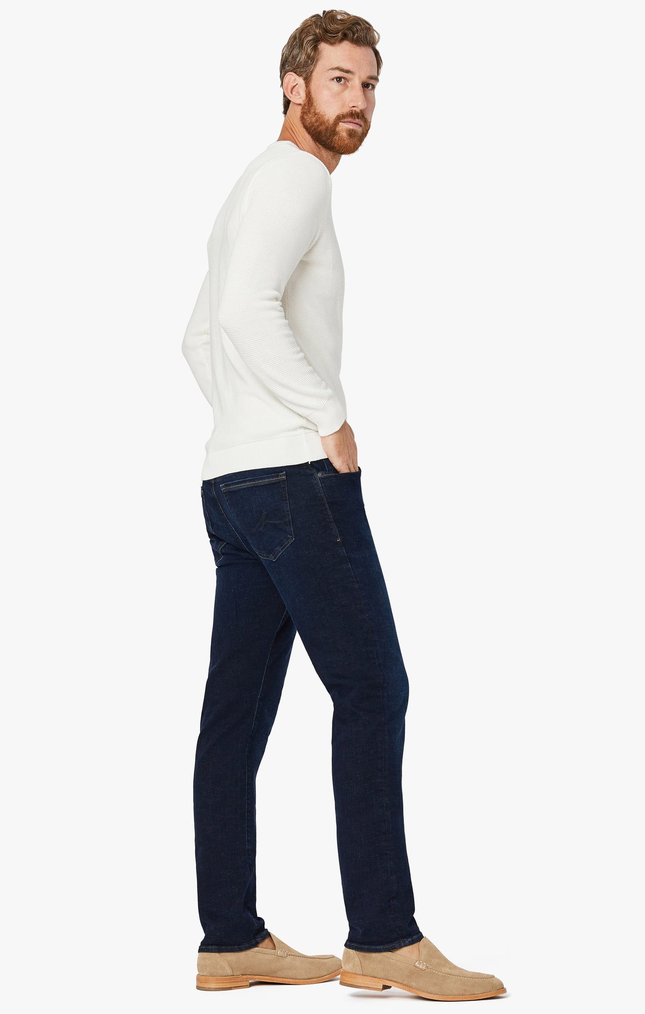 Cool Slim Leg Jeans in Dark Core
