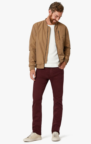 Cool Tapered Leg in Burgundy Comfort