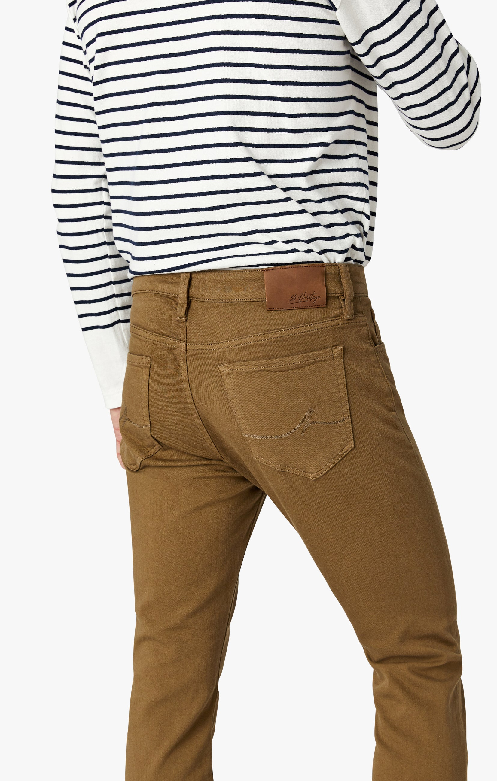 Cool Tapered Leg Pants In Tobacco Comfort Image 8