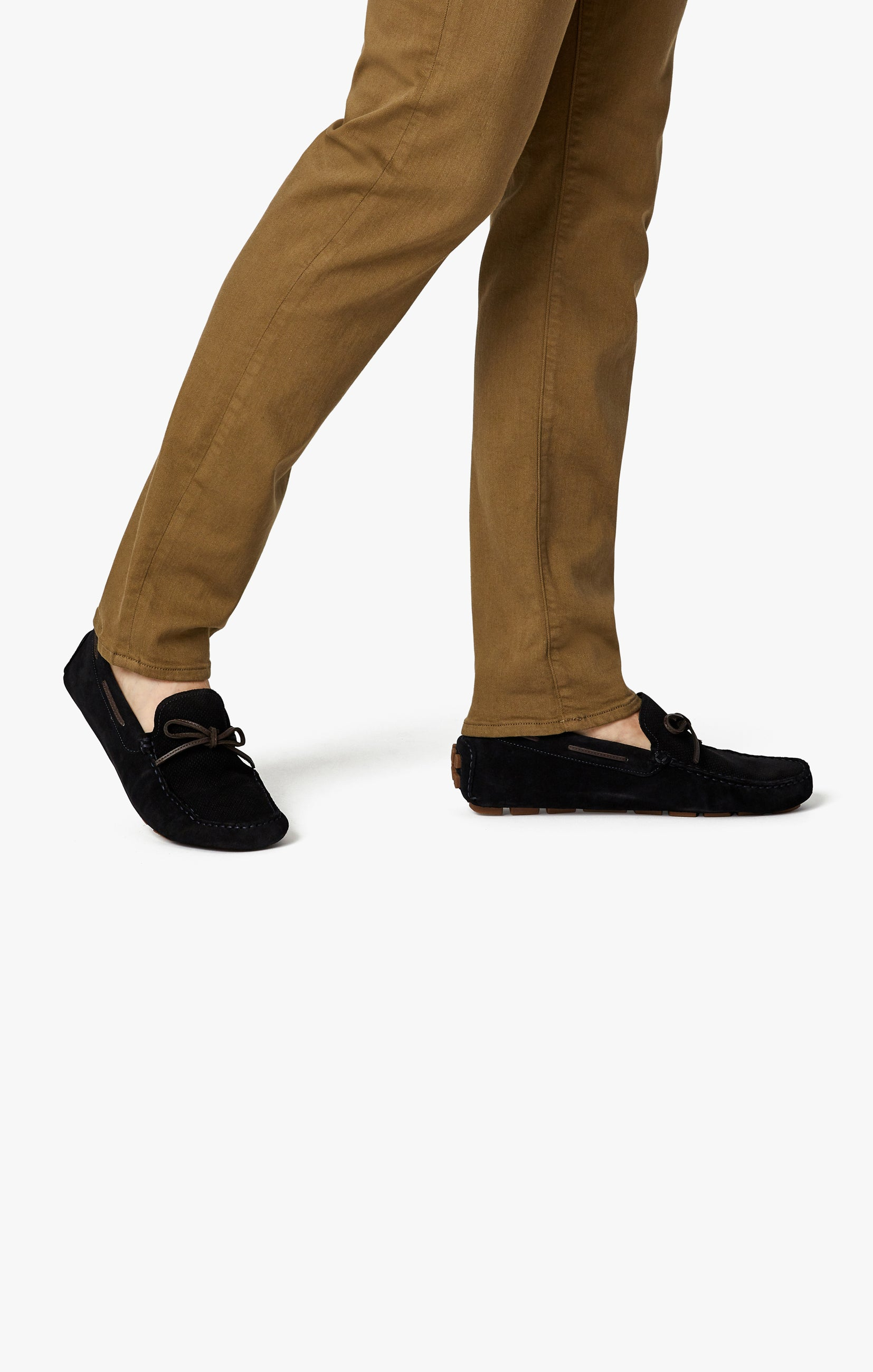 Cool Tapered Leg Pants In Tobacco Comfort Image 9