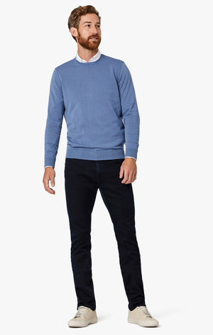 Cool Tapered Leg Denim In Blue Smart Casual