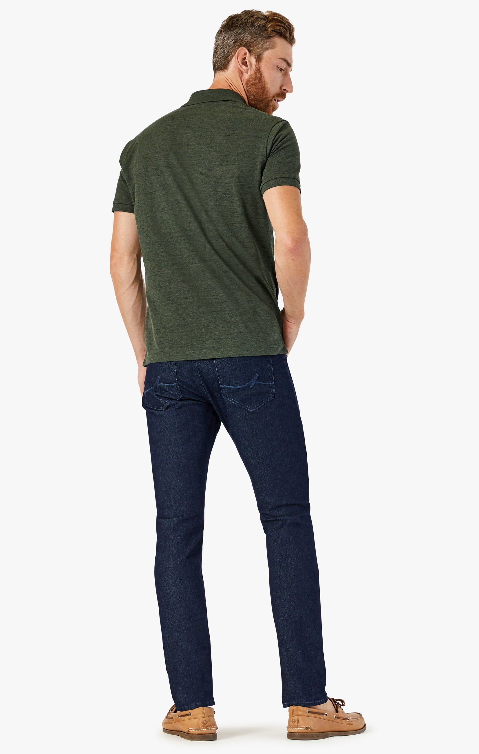 Cool Tapered Leg Jeans In Rinse Sporty Image 3