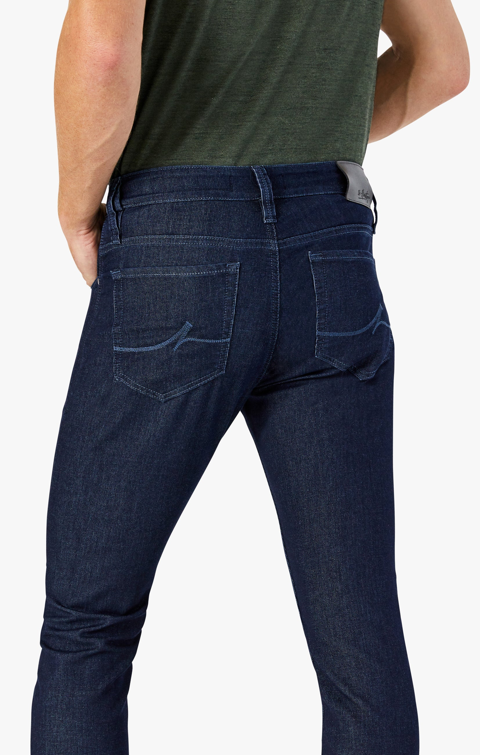 Cool Tapered Leg Jeans In Rinse Sporty Image 5
