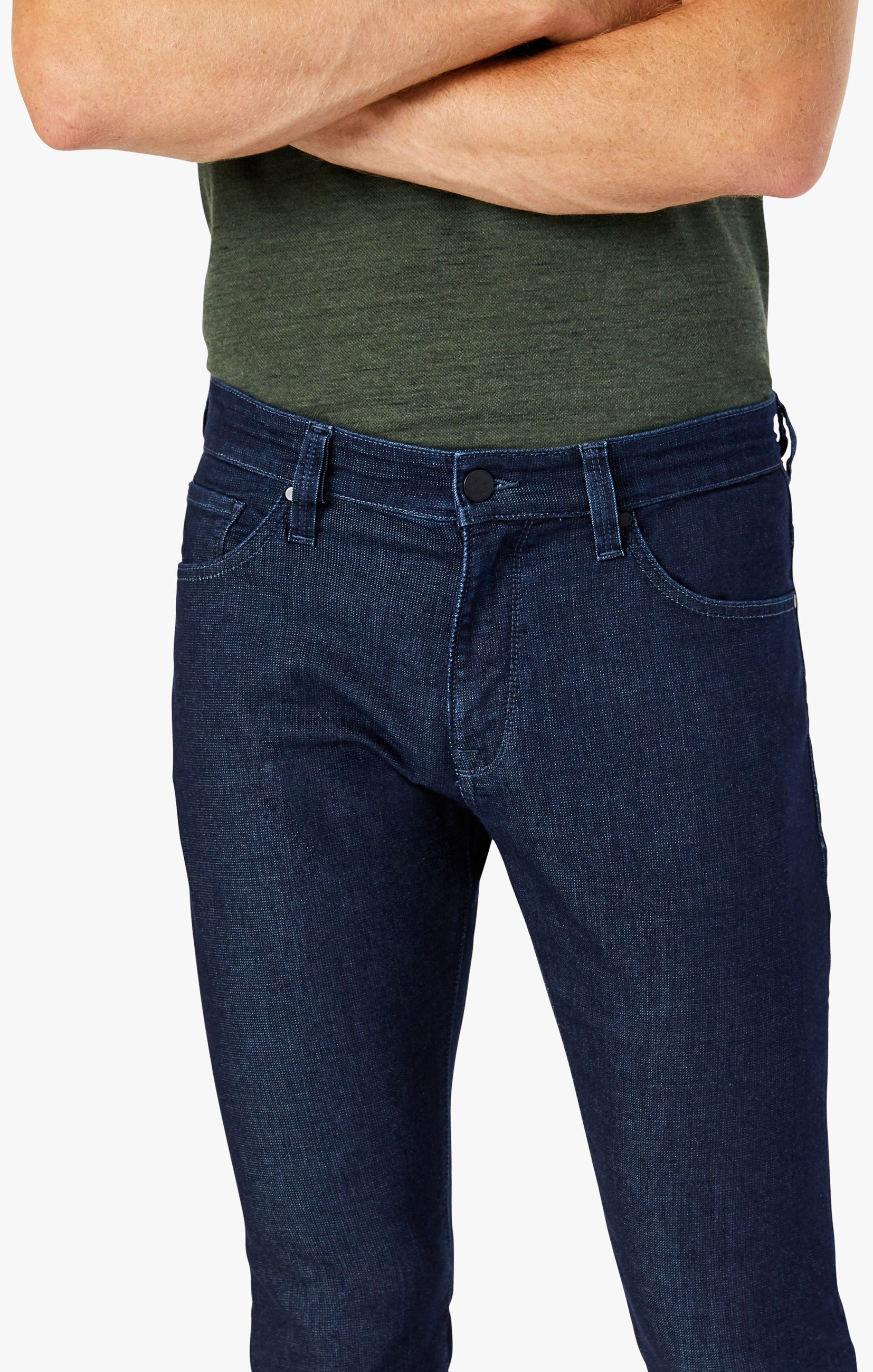 Cool Tapered Leg Jeans In Rinse Sporty Image 4