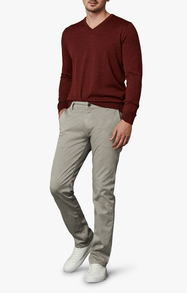 Naples Straight Leg Chino Pants in Griffin Washed Twill Image 1