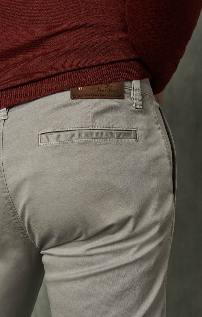 Naples Straight Leg Chino Pants in Griffin Washed Twill Image 4