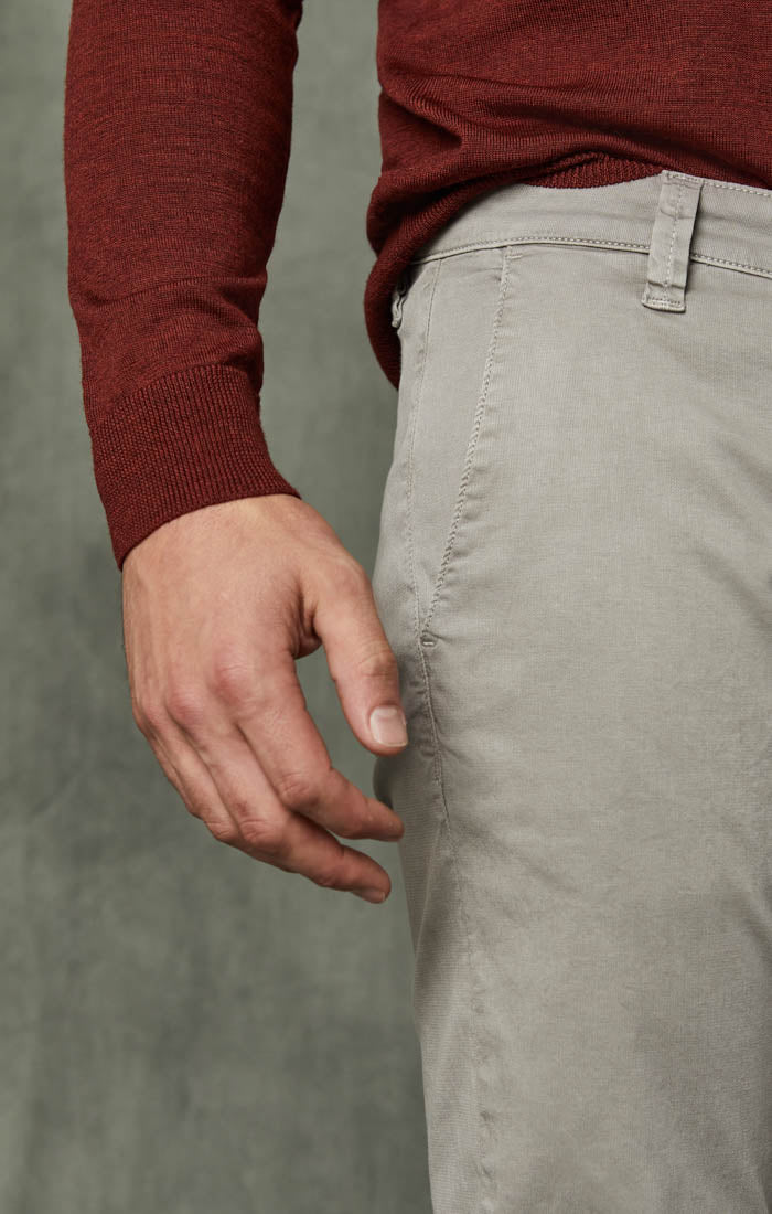 Naples Straight Leg Chino Pants in Griffin Washed Twill Image 5