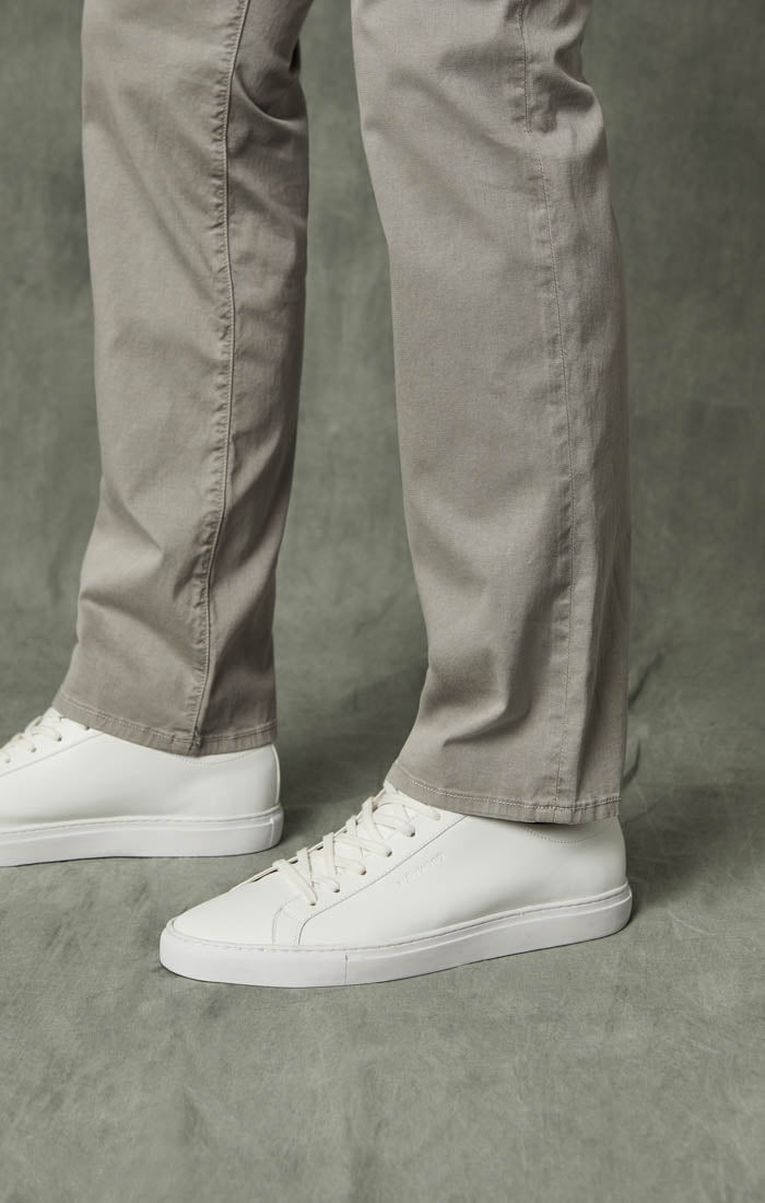 Naples Straight Leg Chino Pants in Griffin Washed Twill Image 6