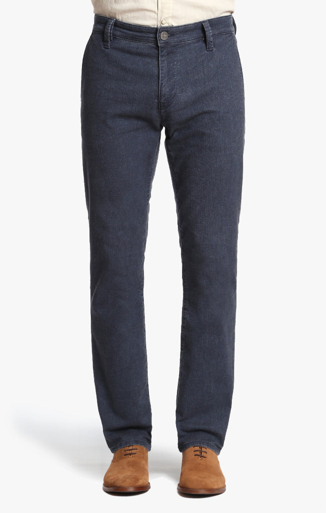 Naples Straight Leg in Navy Herringbone - 34 Heritage Canada