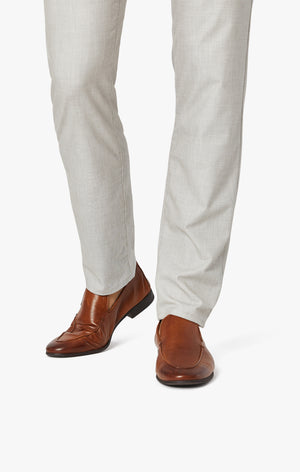 Verona Slim Leg Chino Pants In Sand Summer Melange