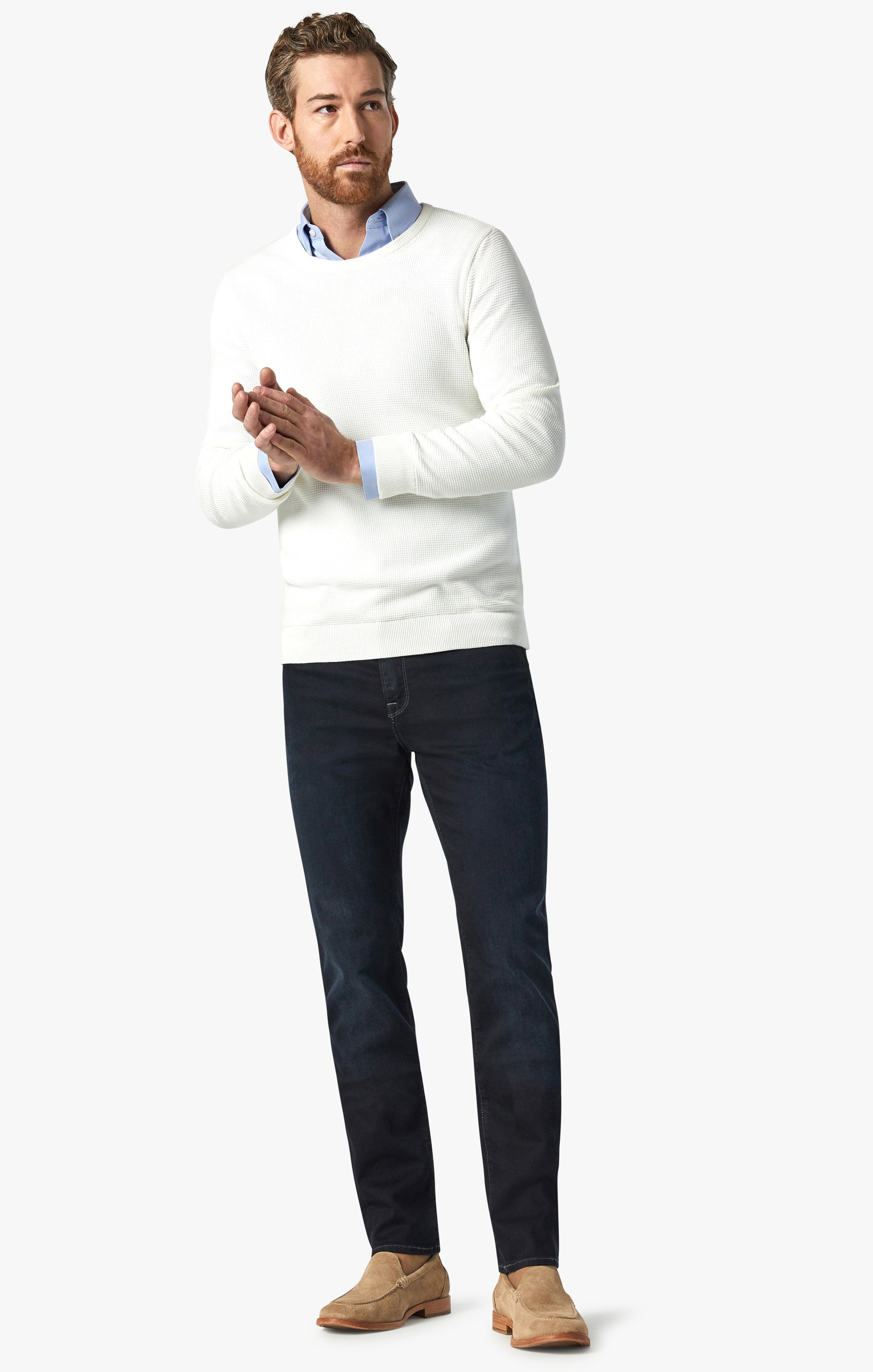 Champ Athletic Fit Jeans In Midnight Austin Image 4