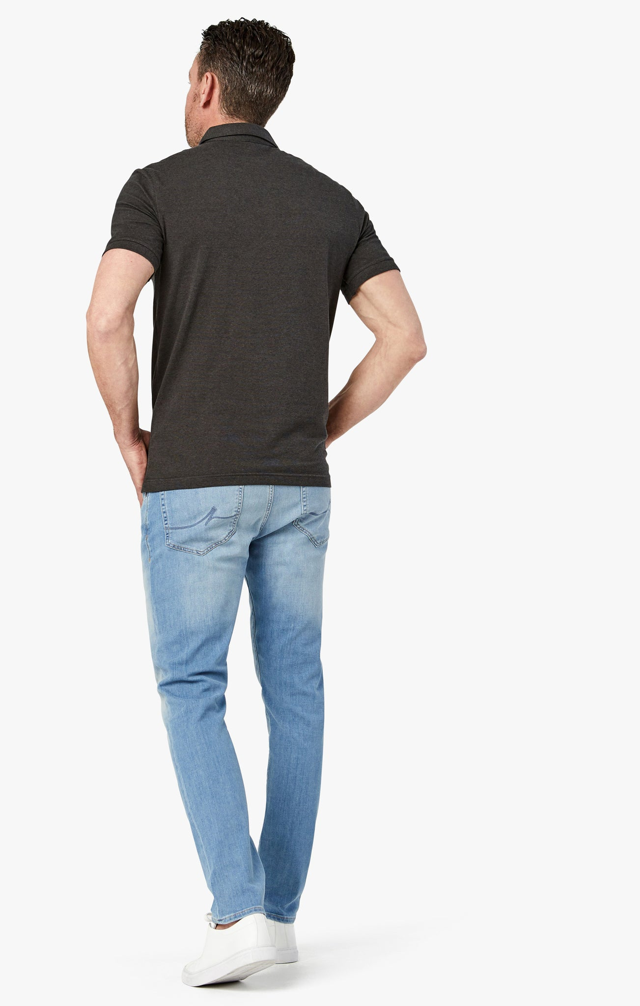 Calm Skinny Leg Jeans in Light Luxury