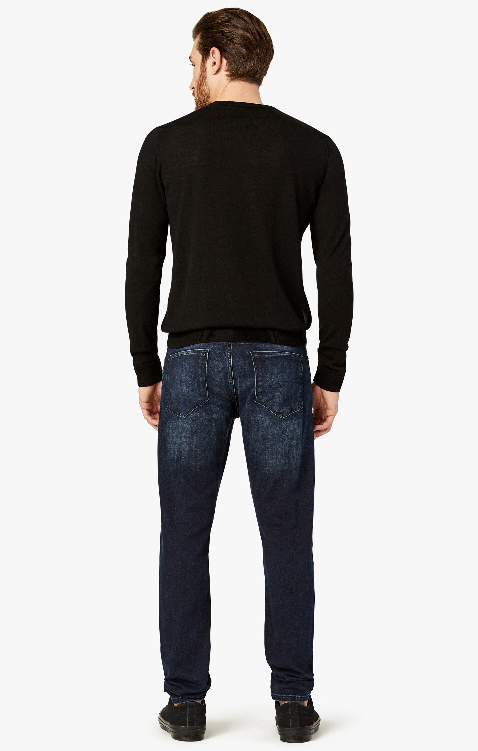 Calm Skinny Leg Jeans In Deep Authentic Image 3