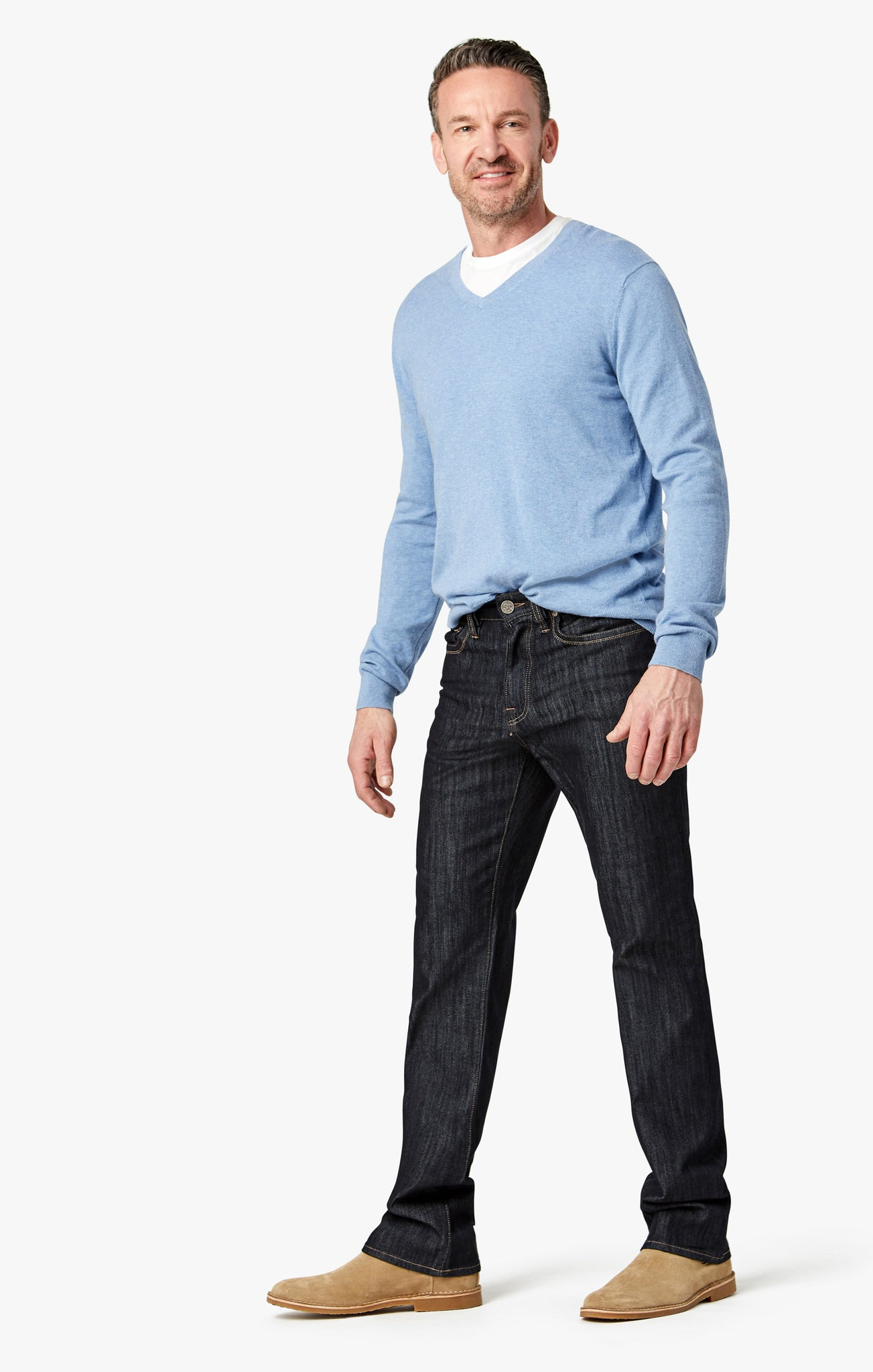 Charisma Classic Fit Jeans in Rinse Mercerized
