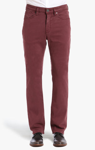 Charisma Classic Fit in Bordeaux  Twill - 34 Heritage Canada