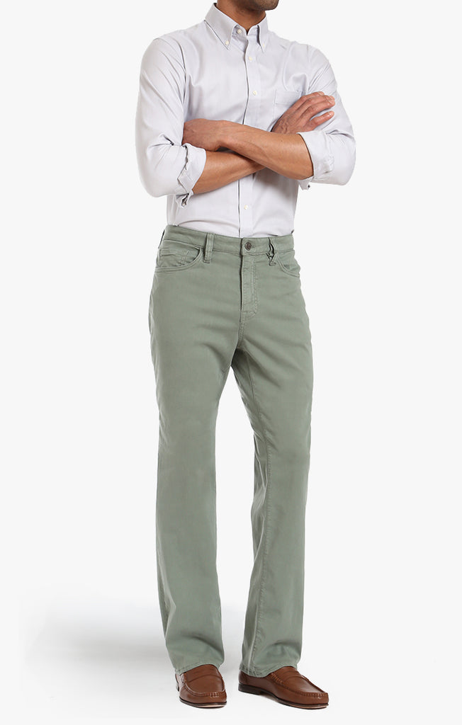 CHARISMA CLASSIC FIT IN MOSS TWILL - 34 Heritage Canada