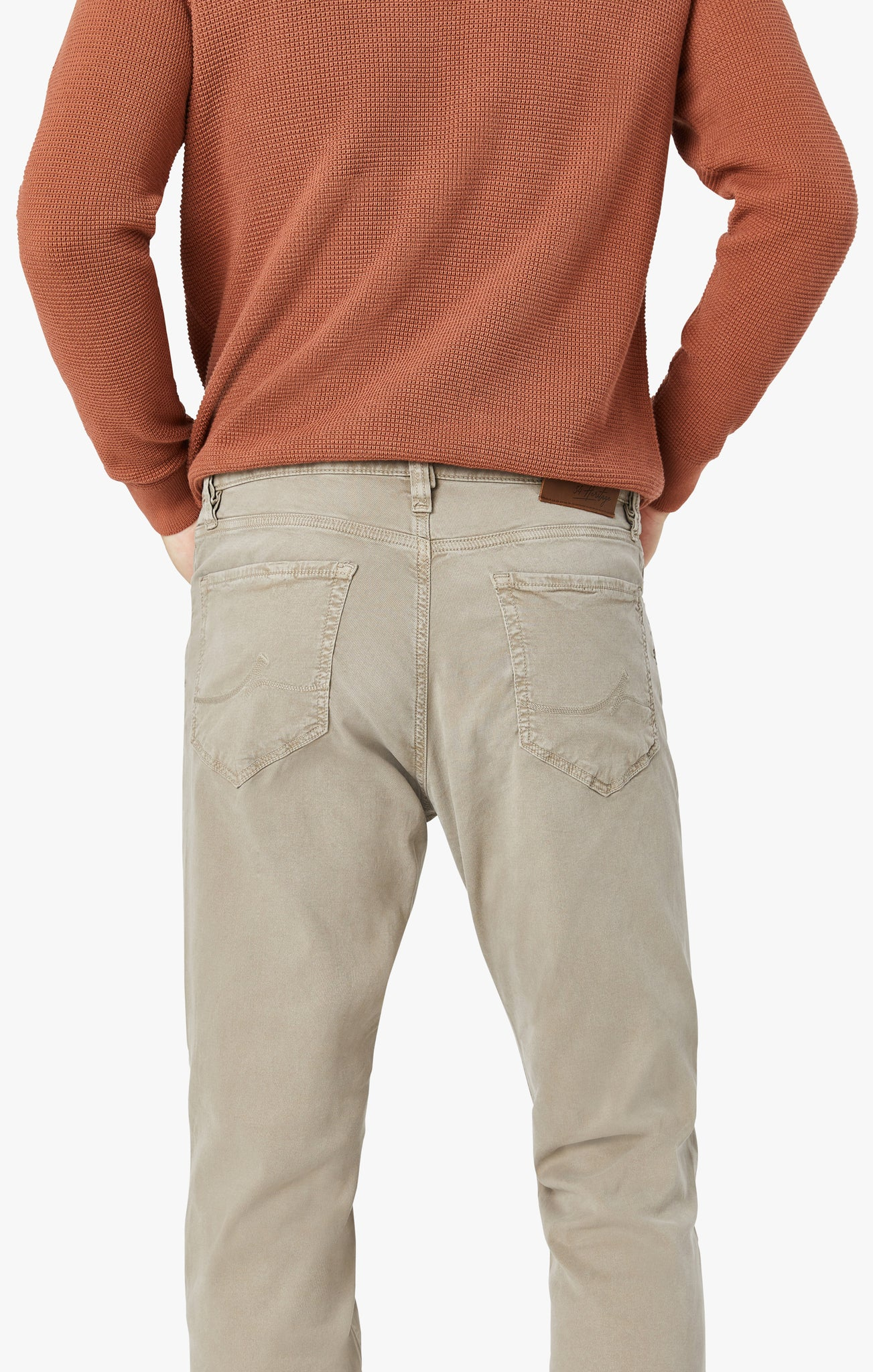 Charisma Classic Fit Pants in Mushroom Soft Touch