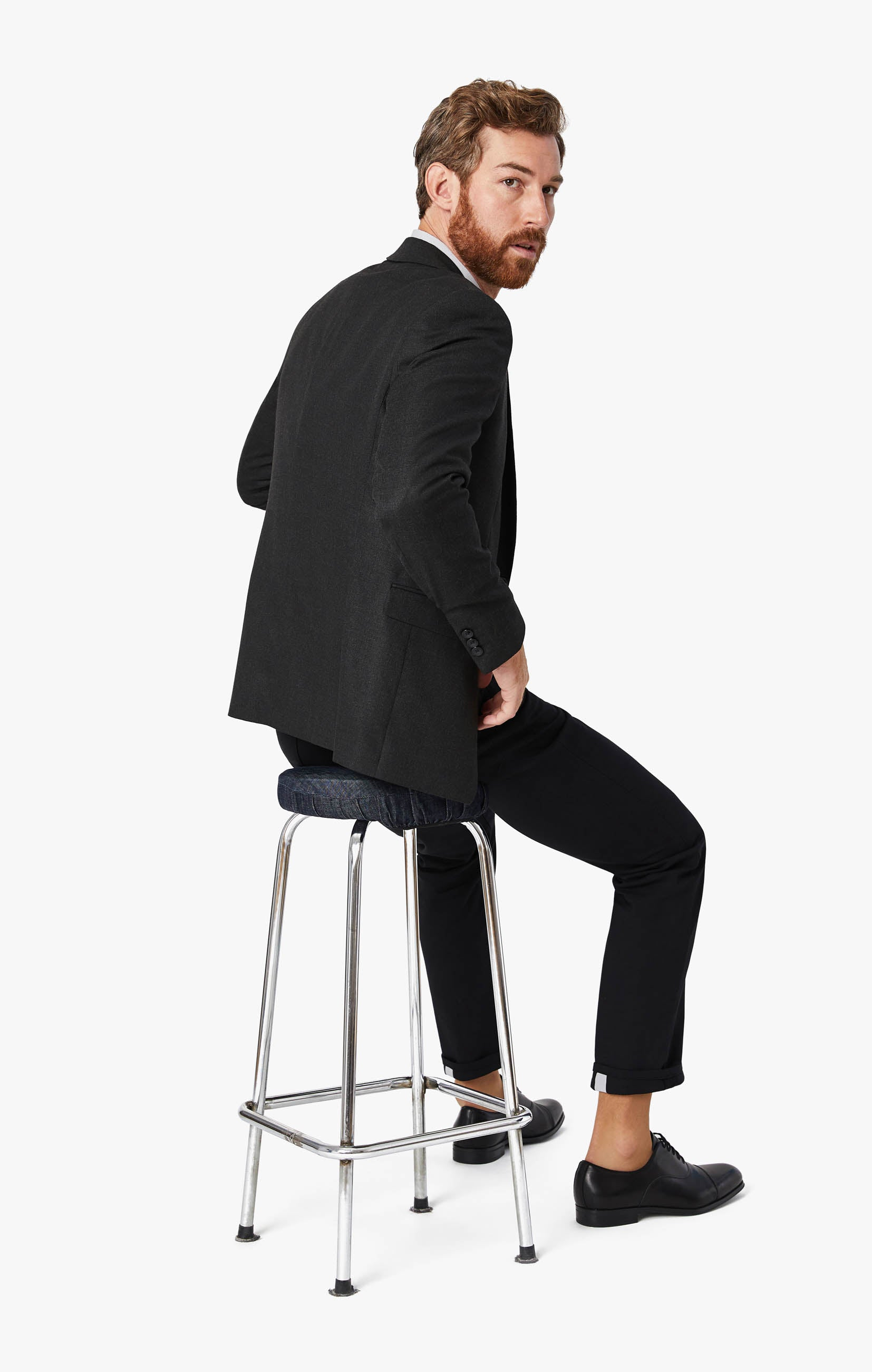 Charisma Classic Fit Commuter Pants In Onyx Image 2