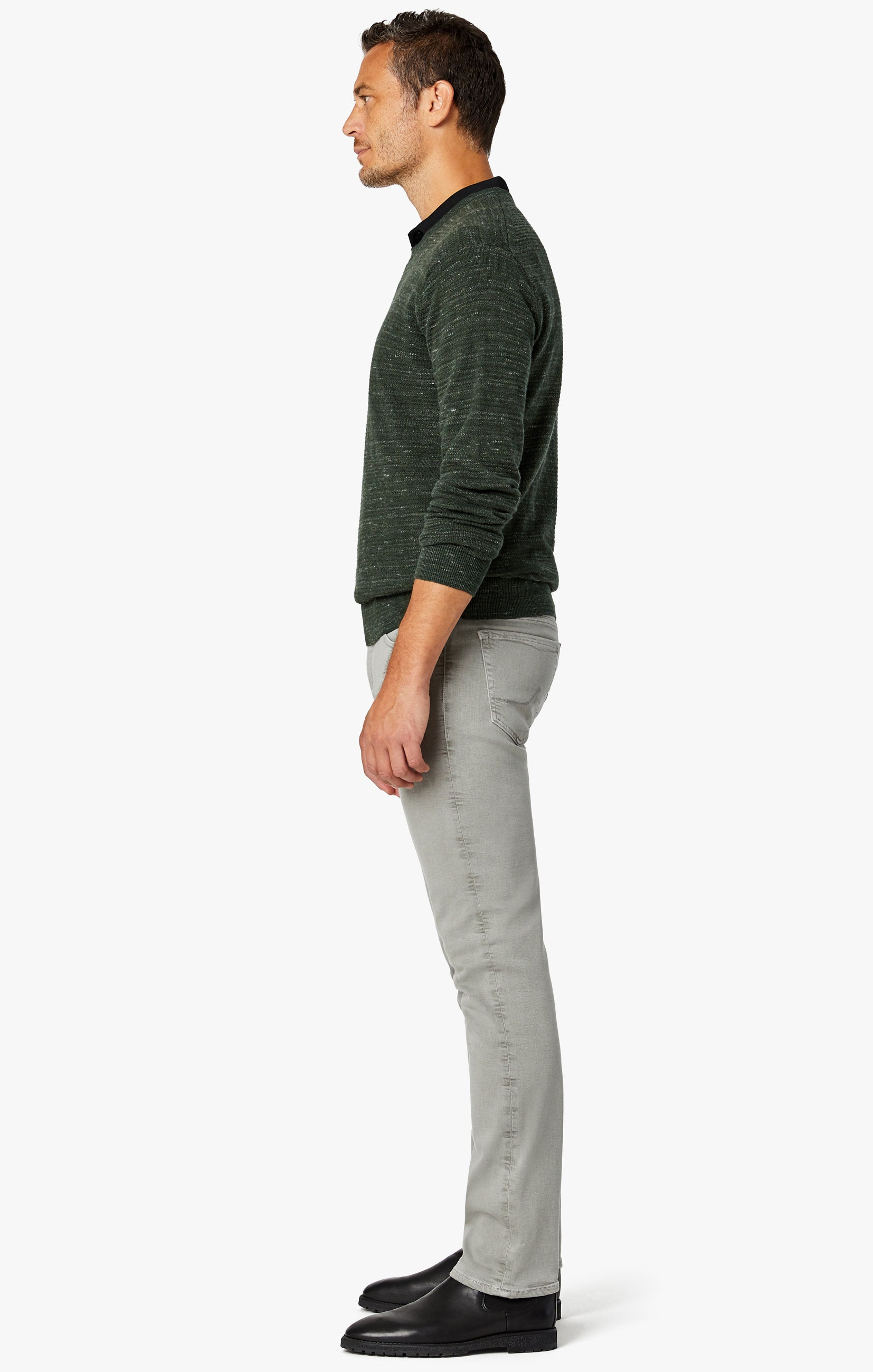 Charisma Classic Fit Jeans in Light Grey Comfort Image 5