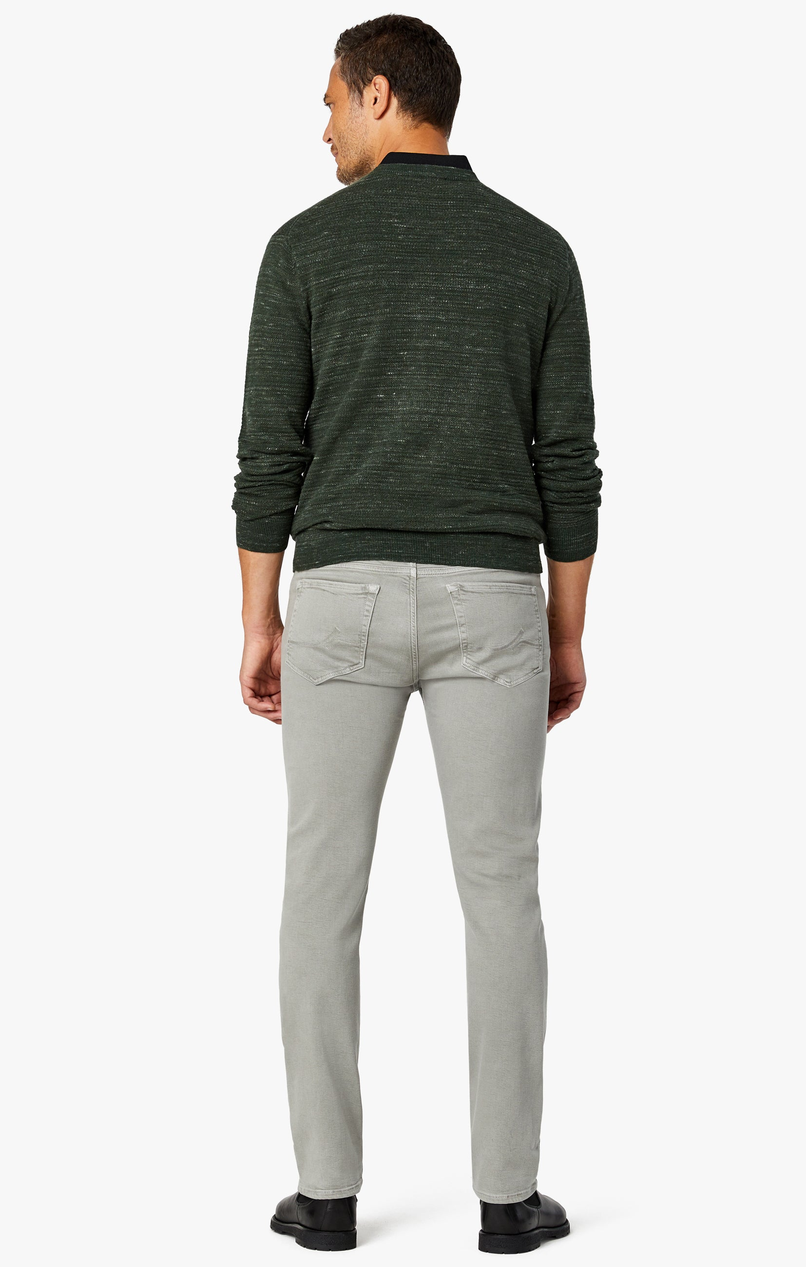 Charisma Classic Fit Jeans in Light Grey Comfort Image 4