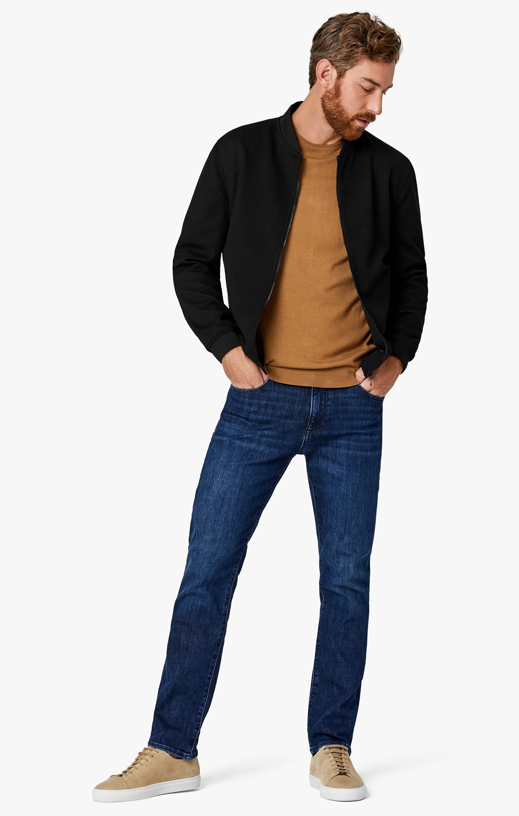 Charisma Classic Fit Jeans in Dark Coolmax Image 2