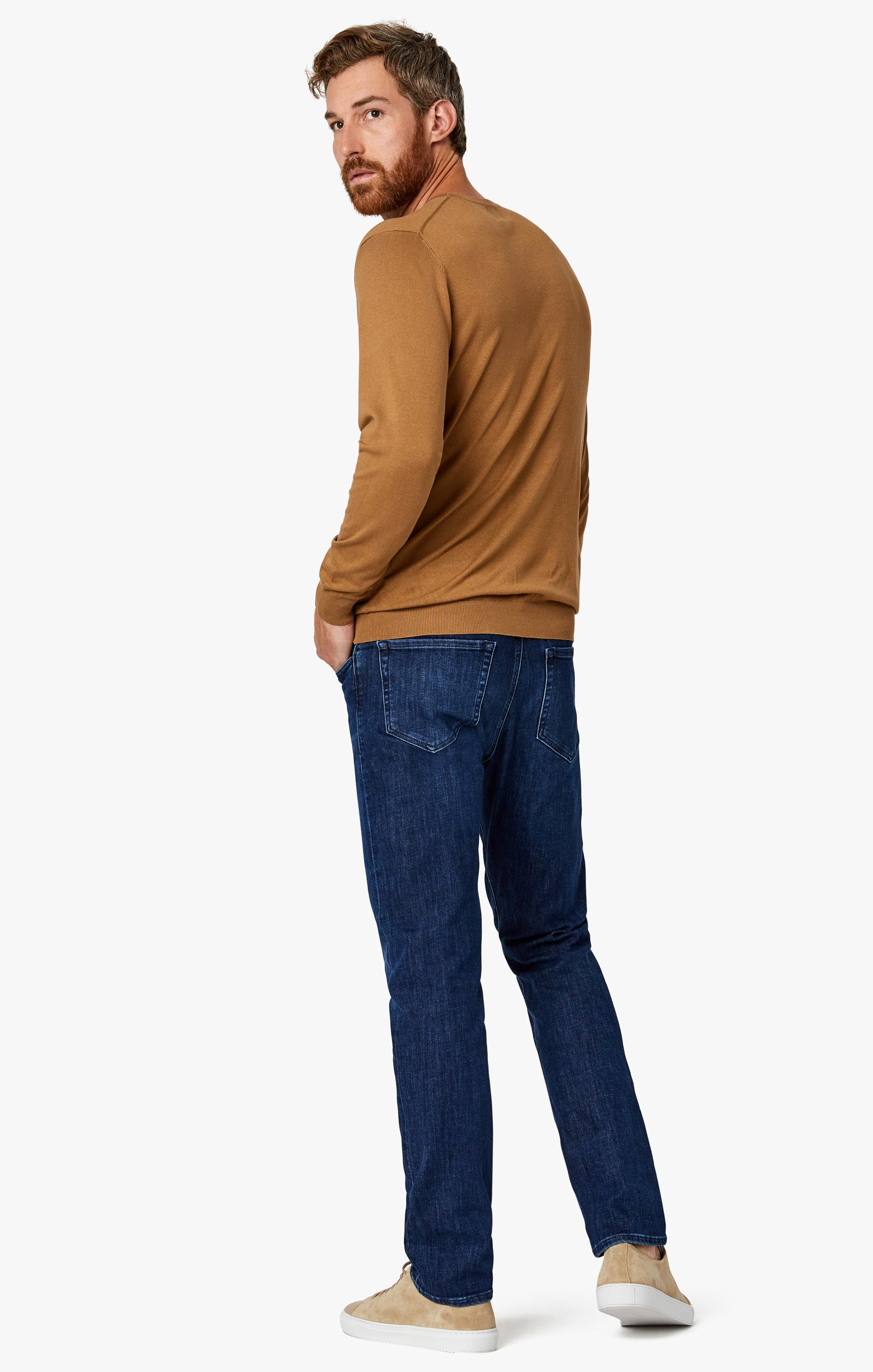 Charisma Classic Fit Jeans in Dark Coolmax Image 4