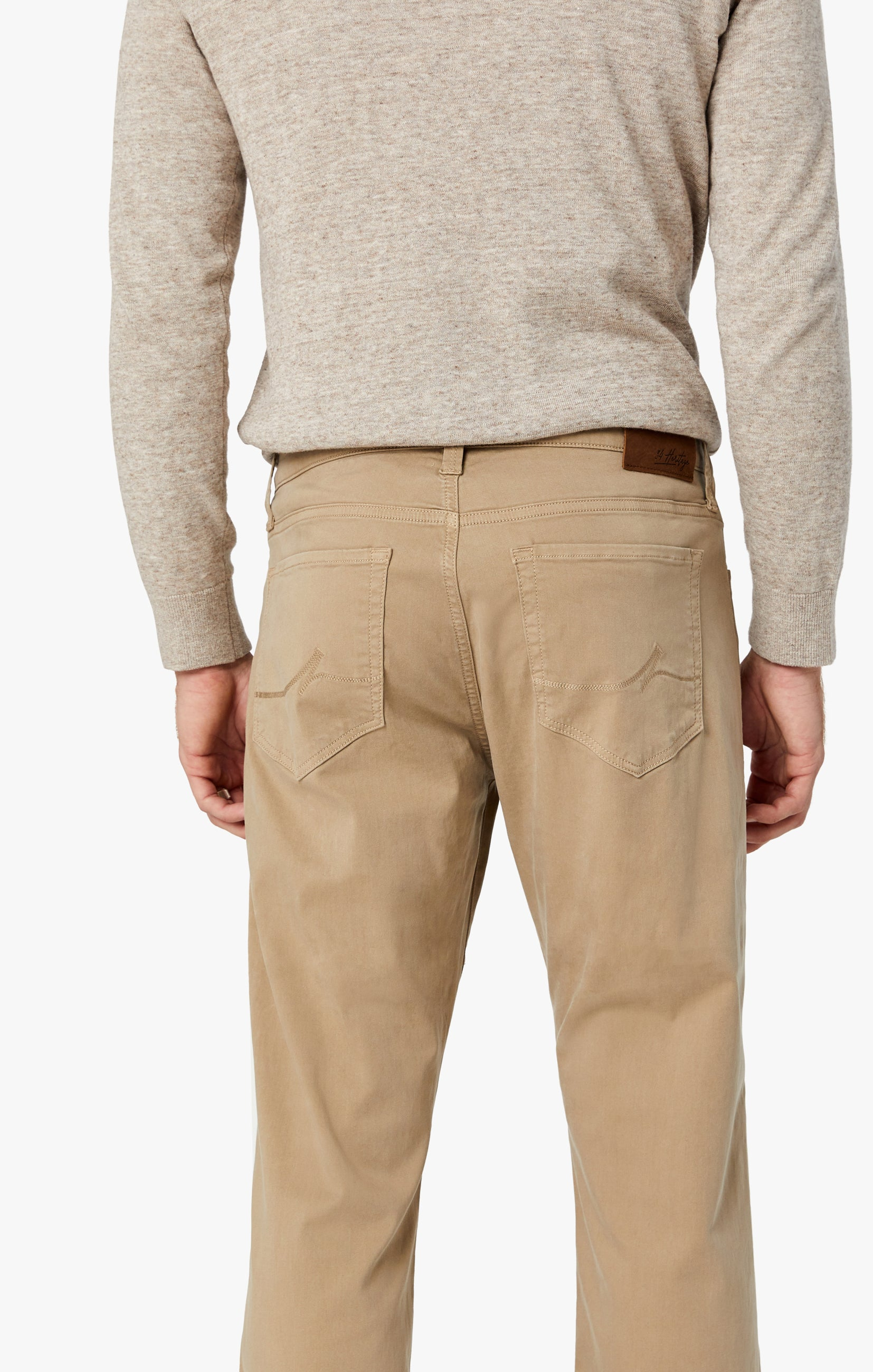 Courage Straight Leg Pants in Sand Twill Image 8