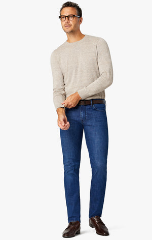 Courage Straight Leg Jeans in Ink Heritage